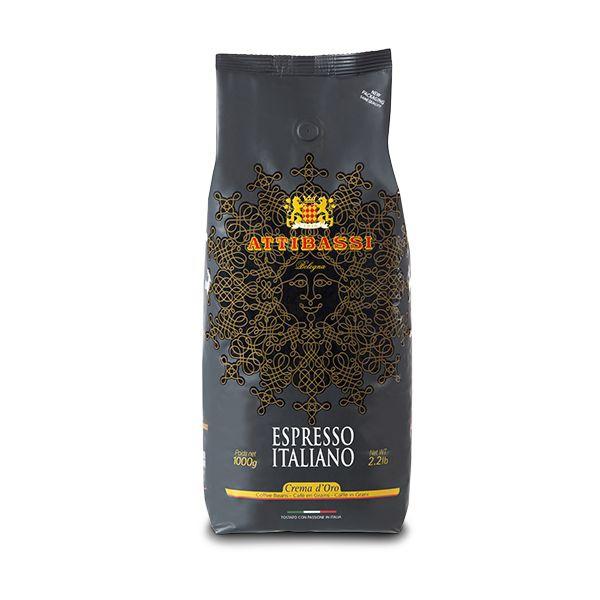 attibassi cremadoro 1kg zrnkova kava