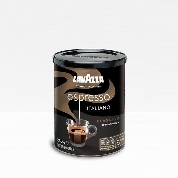 lavazza caffe espresso 250g mleta doza
