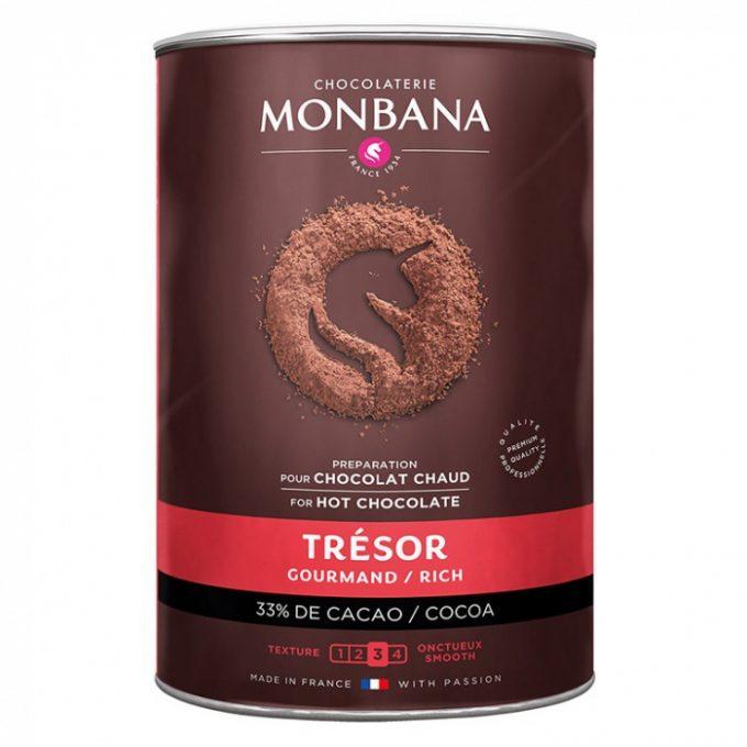 monbana tresor de chocolat 1000g