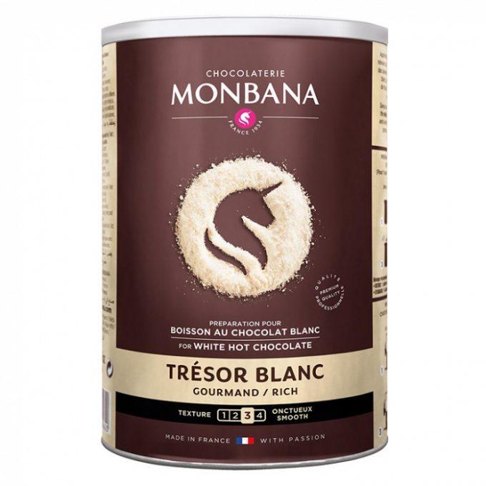 monbana tresor de chocolat biela cokolada 500g