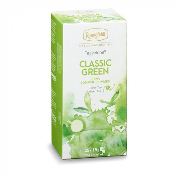 ronnefeldt teavelope classic green 25x1 5g