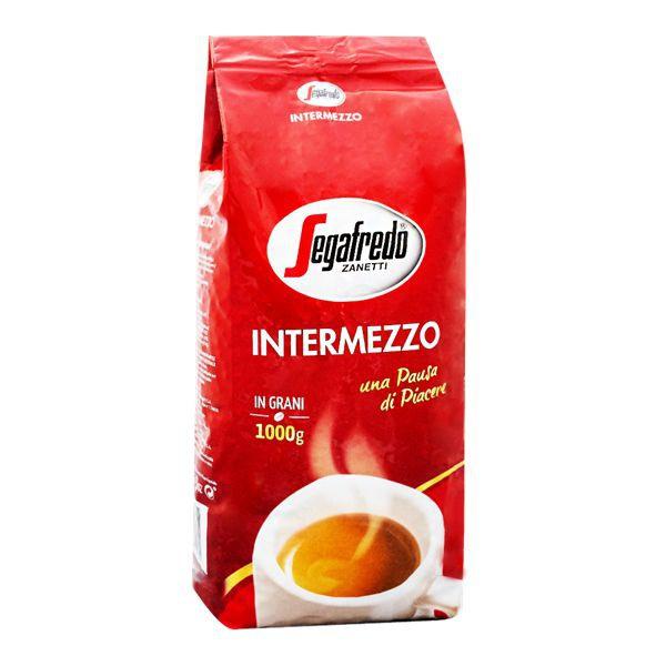 segafredo intermezzo 1kg zrnkova kava