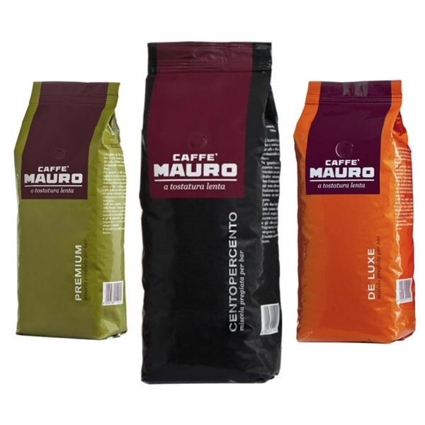 Mauro Centopercento Espresso De Luxe espresso premium 3kg zrnkova kava