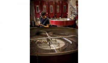 Proces praženia kávy