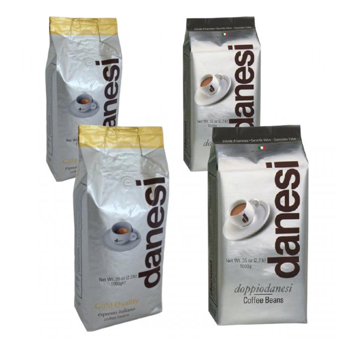 danesi gold quality doppio zrnkova kava 4kg
