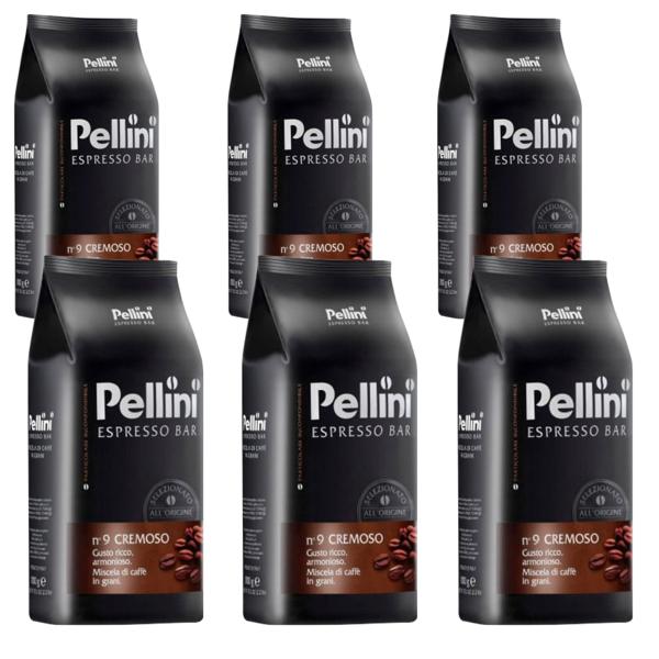 pellini espresso bar cremoso 6g zrnkova kava original